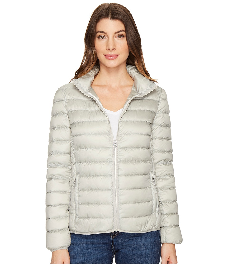 Tumi Clairmont Packable Travel Puffer Jacket (Platinum) Women