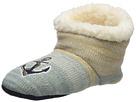 Sperry Anchor Lurex Sherpa Slipper Sock