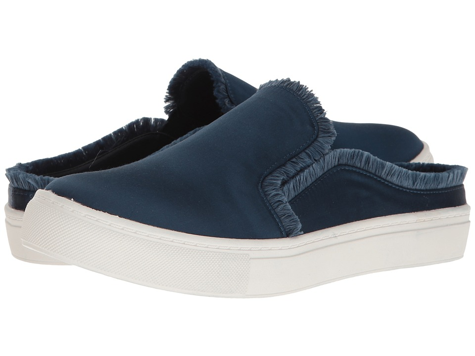 Dirty Laundry Jaxon Satin Mule Sneaker (Navy) Women