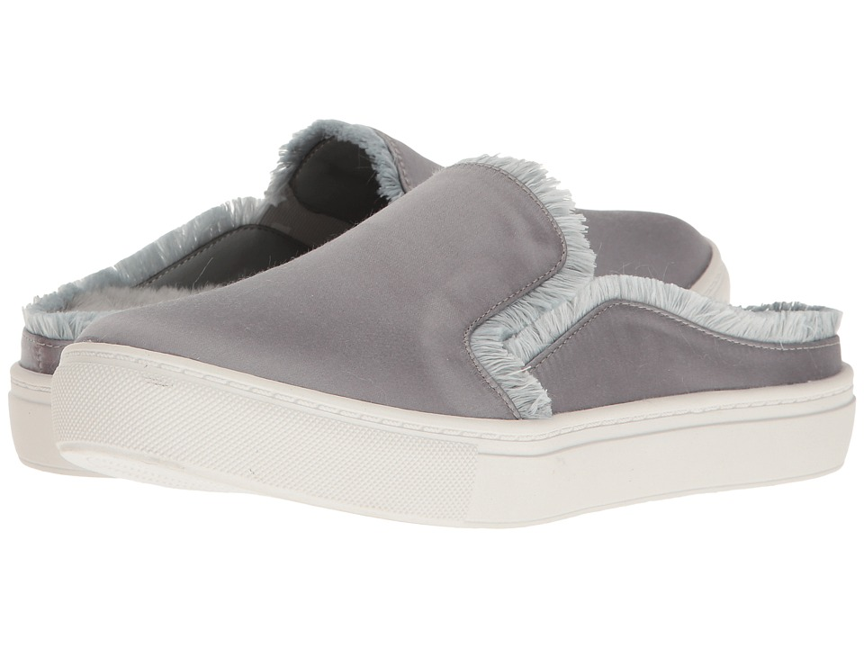 Dirty Laundry Miss Jaxon Faux Fur Lined Mule Sneaker (Silver) Women