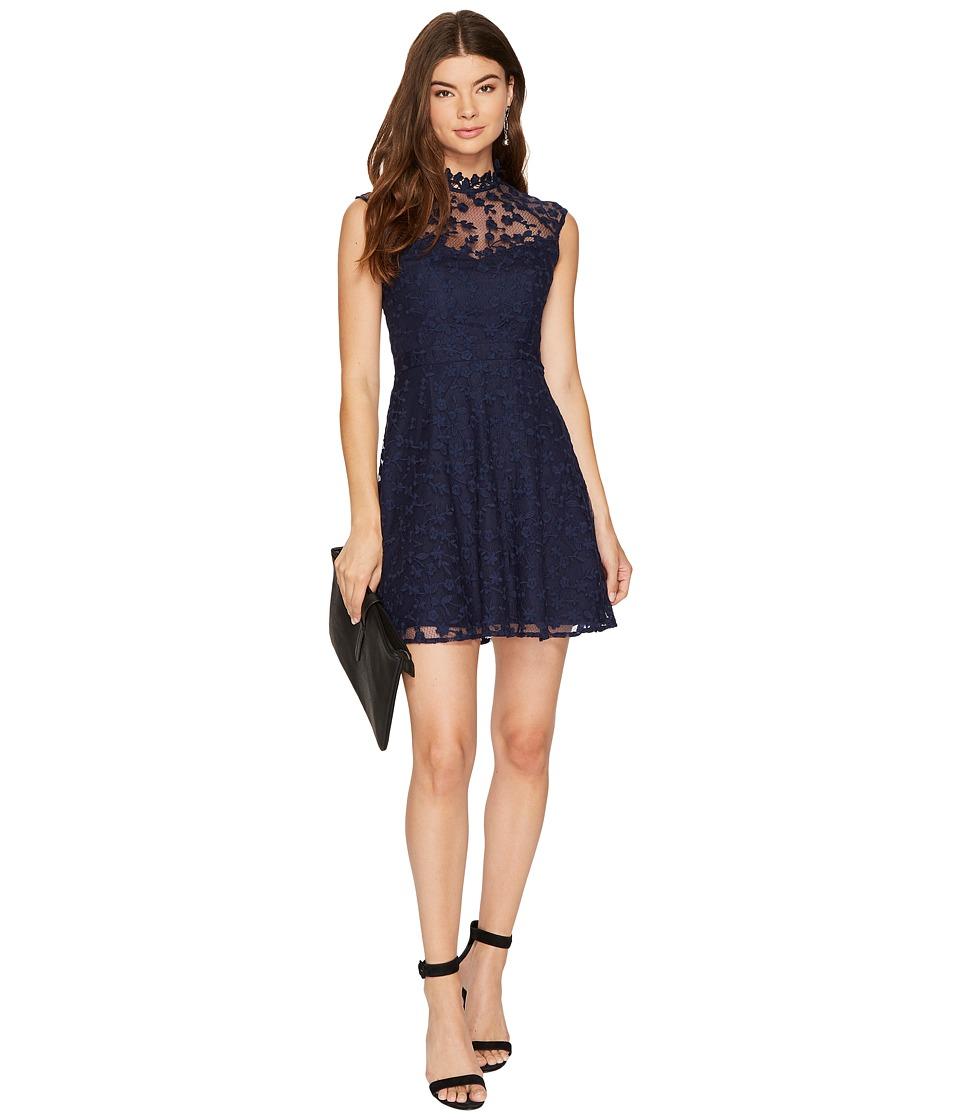 BB Dakota - Becky High Neck Lace Dress