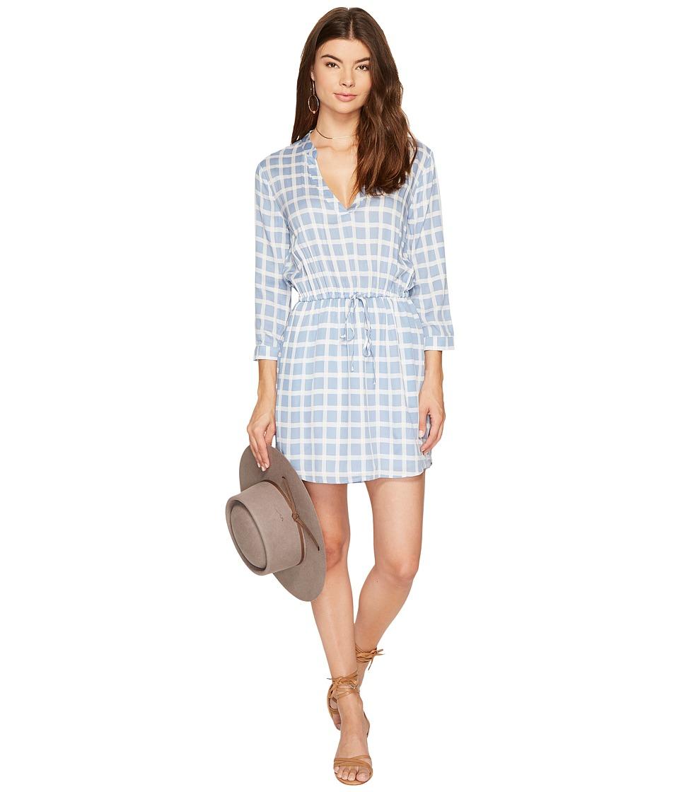 BB Dakota - Daniella Printed Plaid Dress