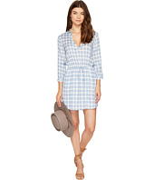 BB Dakota - Daniella Printed Plaid Dress