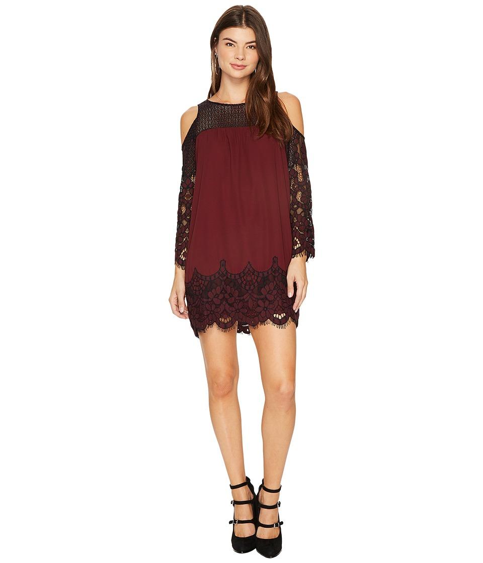 BB Dakota - Jackey Two-Tone Lace Dress
