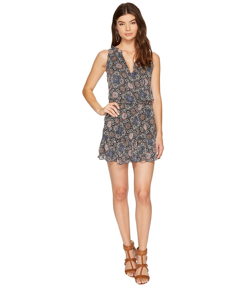 BB Dakota - January Printed Fit Flare Dress