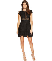 BB Dakota - Calvin Scalloped Trim Lace Dress