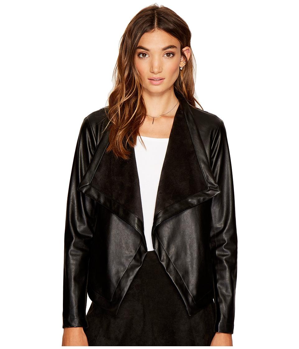 BB Dakota - Gracelyn Drape Front Jacket