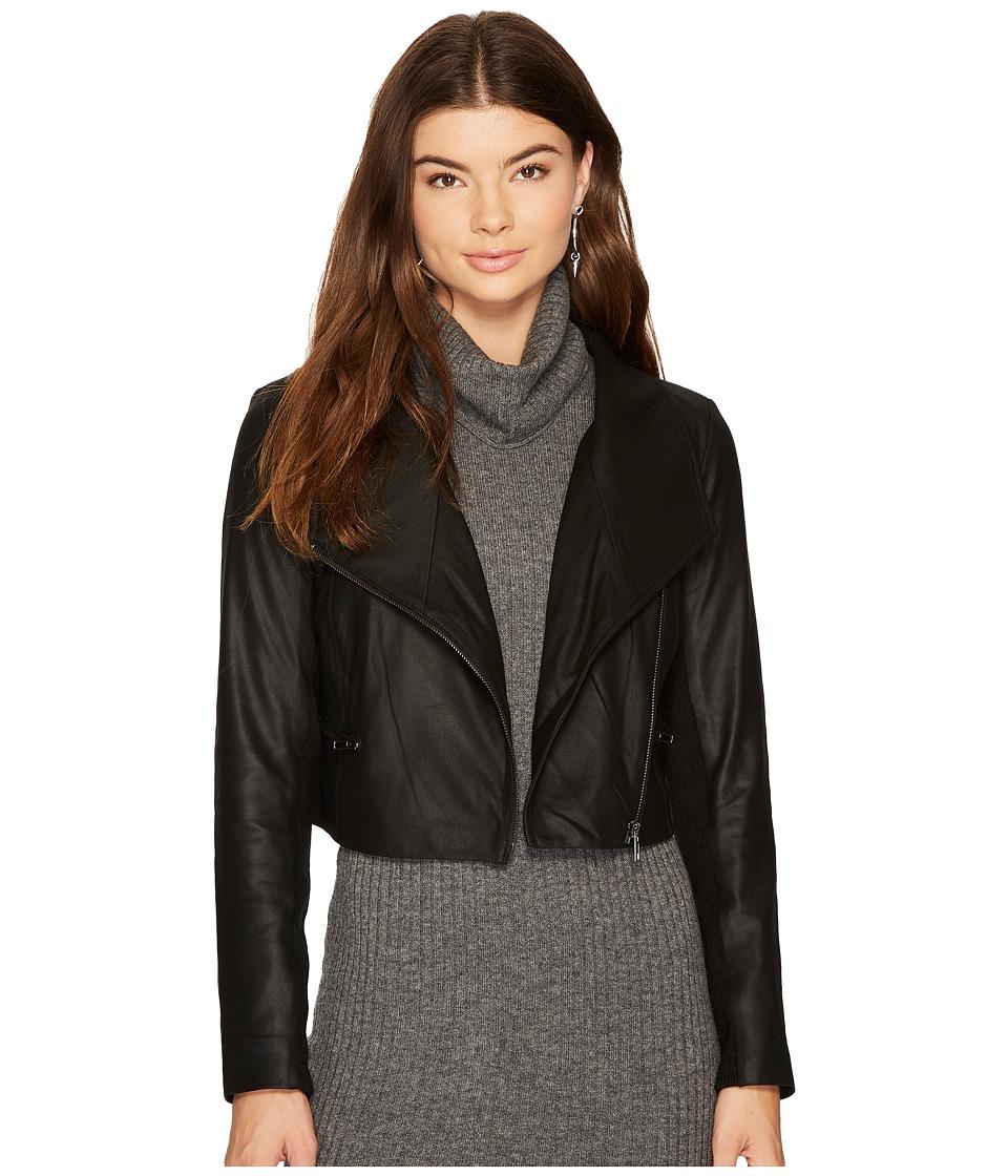 BB Dakota - Shiloh Cropped Leather Jacket