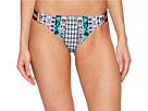 Nanette Lepore - Kimono Patchwork Vamp Cheeky Bikini Bottom