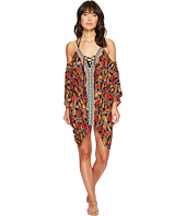 Nanette Lepore - Mozambique Off the Shoulder Caftan Cover-Up