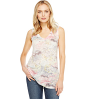 Nally & Millie - Pastel Print V-Neck Tank Top