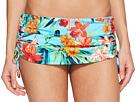 Tommy Bahama - Floriana Shirred Skirted Hipster Bikini Bottom