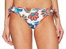 Fira Floral Reversible Side-Tie Hipster Bikini Bottom