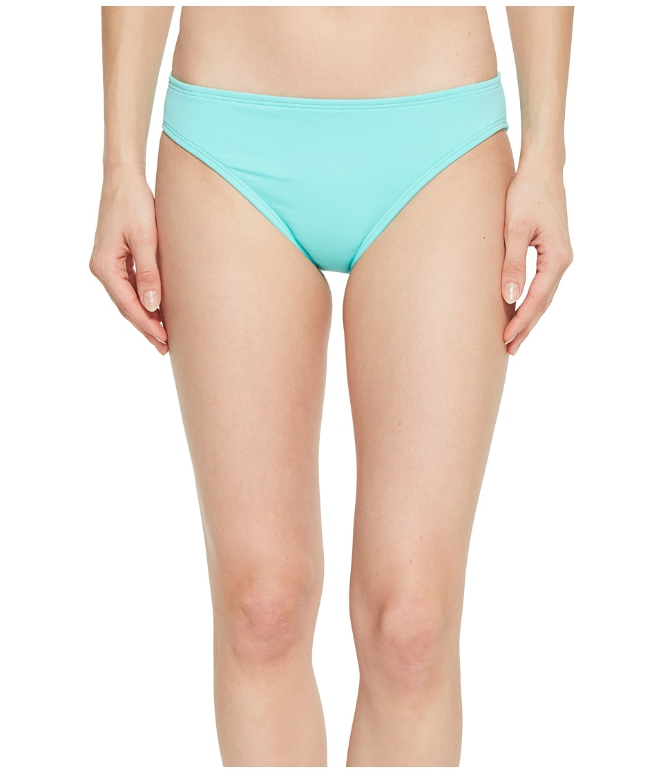 La Blanca - Island Goddess Solid Hipster Bottom (Seafoam) Womens Swimwear