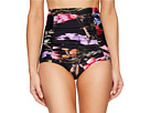 Monroe High Waisted Ruched Swim Bottoms