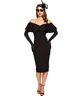 Unique Vintage - Sophia Off Shoulder Wiggle Dress