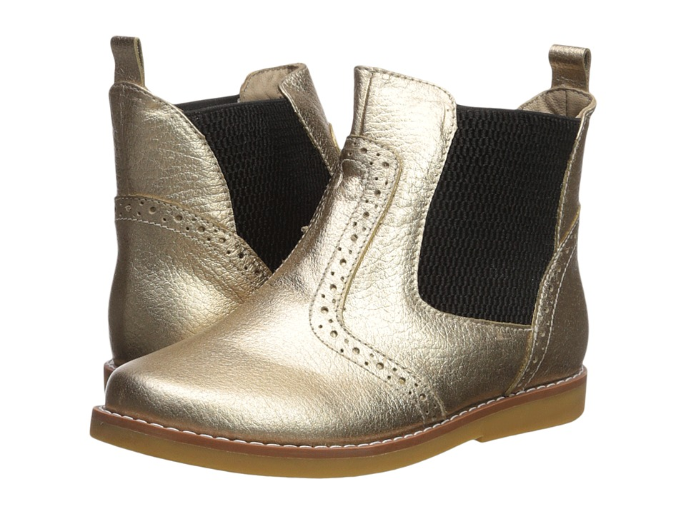 Elephantito - Bootie (Toddler/Little Kid/Big Kid) (Gold) Girls Shoes
