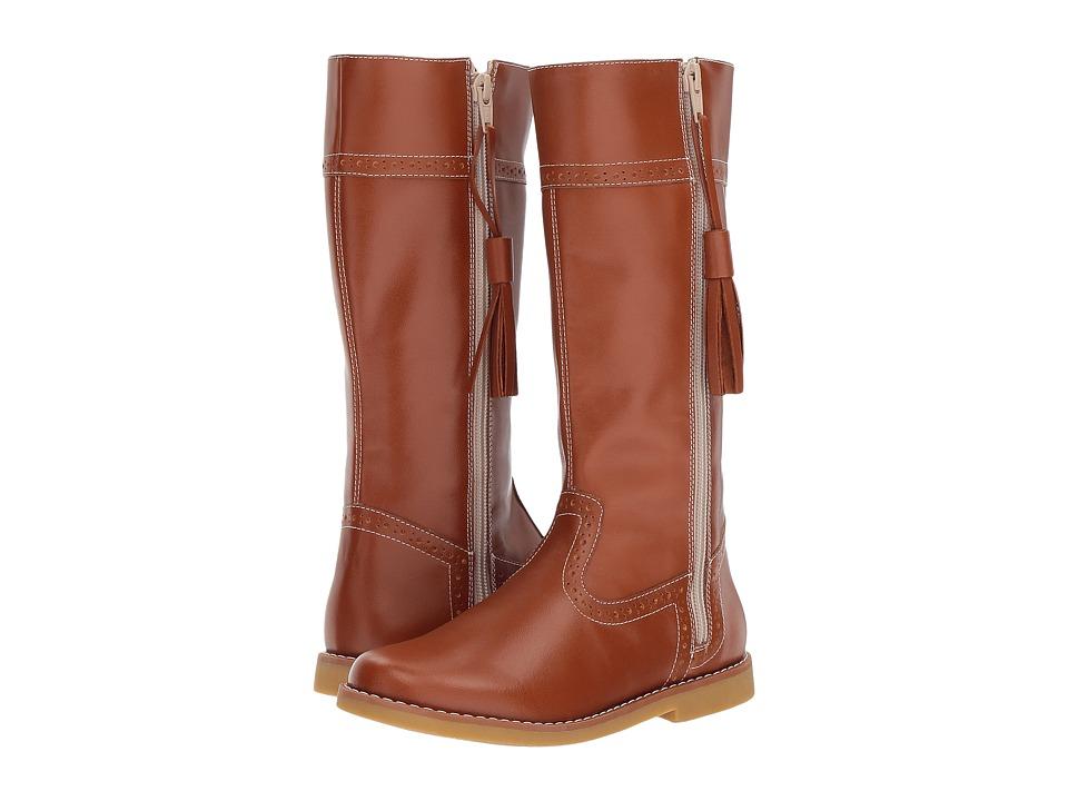 Elephantito Riding Boot (Toddler/Little Kid/Big Kid) (Caramel) Girls Shoes
