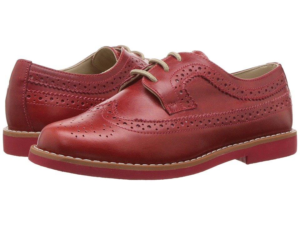 Elephantito - Brogue (Toddler/Little Kid/Big Kid) (Red) Girls Shoes