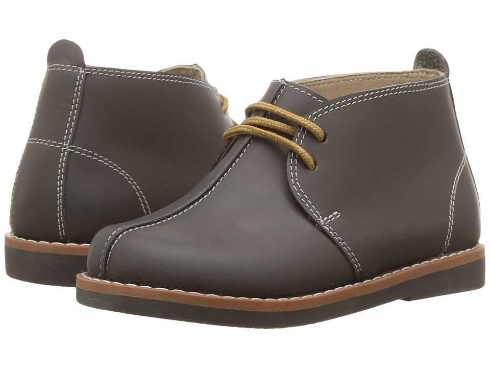 Elephantito - Vintage Bootie (Toddler/Little Kid/Big Kid) (Grey) Boys Shoes