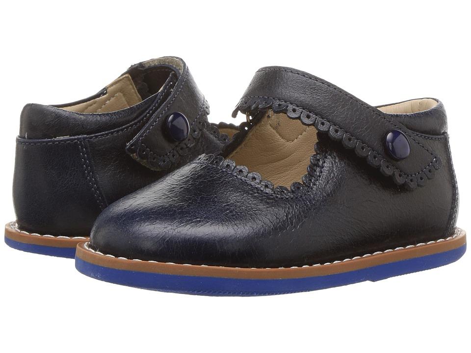 Elephantito Mary Jane (Toddler) (Lapiz Blue) Girls Shoes