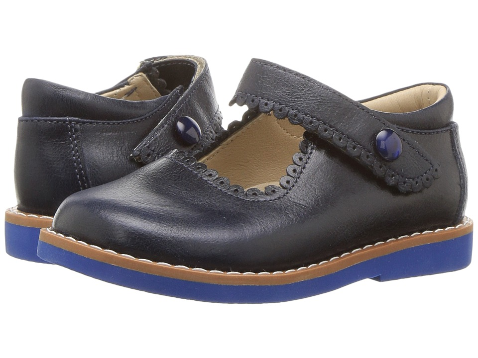 Elephantito - Mary Jane (Toddler/Little Kid/Big Kid) (Lapiz Blue) Girls Shoes