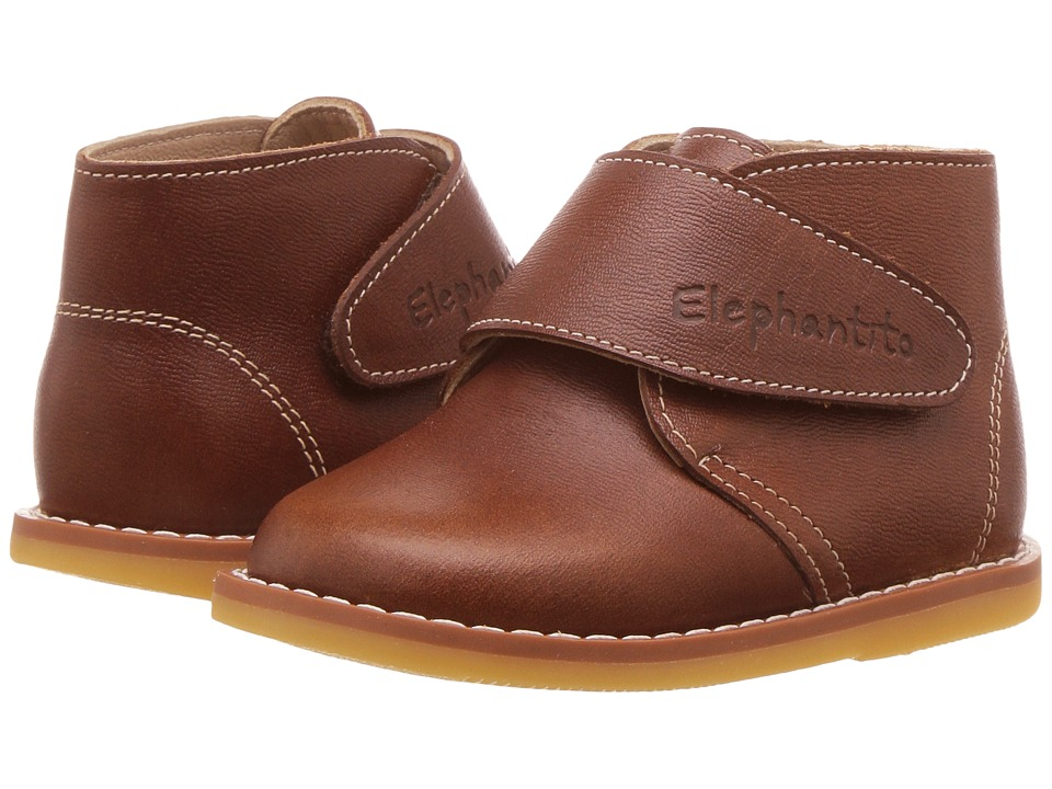 Elephantito - Leather Bootie (Toddler) (Apache) Kids Shoes