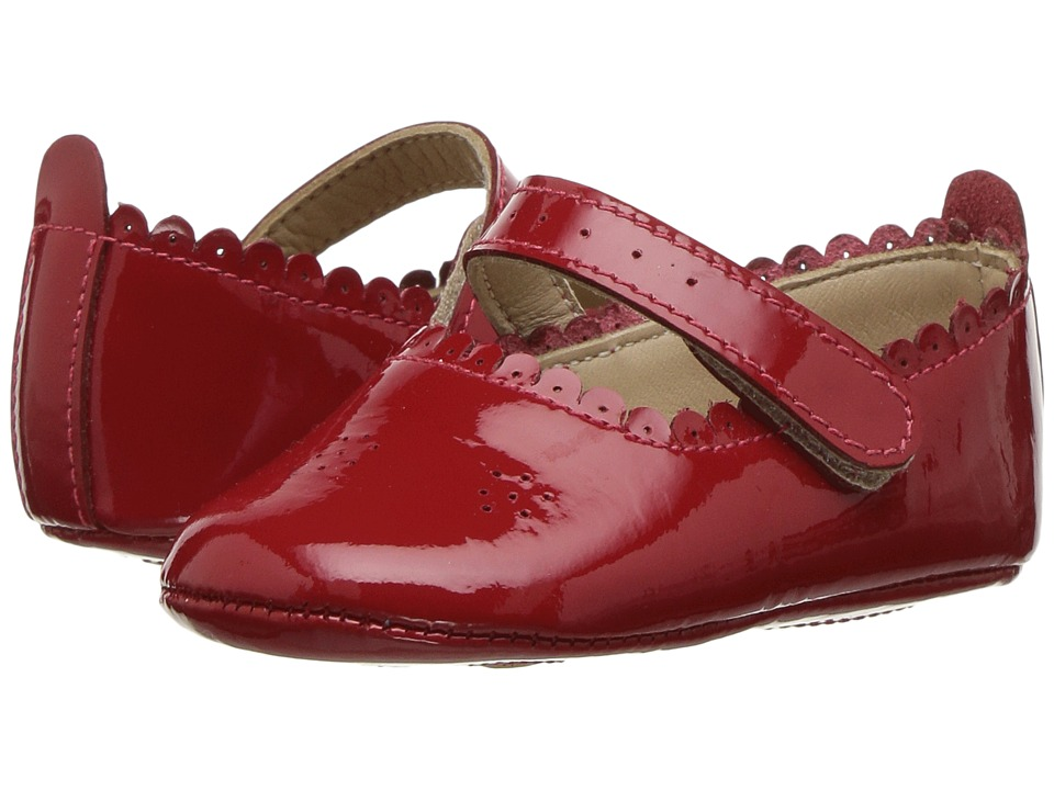 Elephantito - Ella Ballet (Infant/Toddler) (Patent Red) Girls Shoes