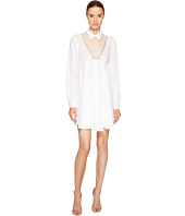 Francesco Scognamiglio - Long Sleeve Collared Dress