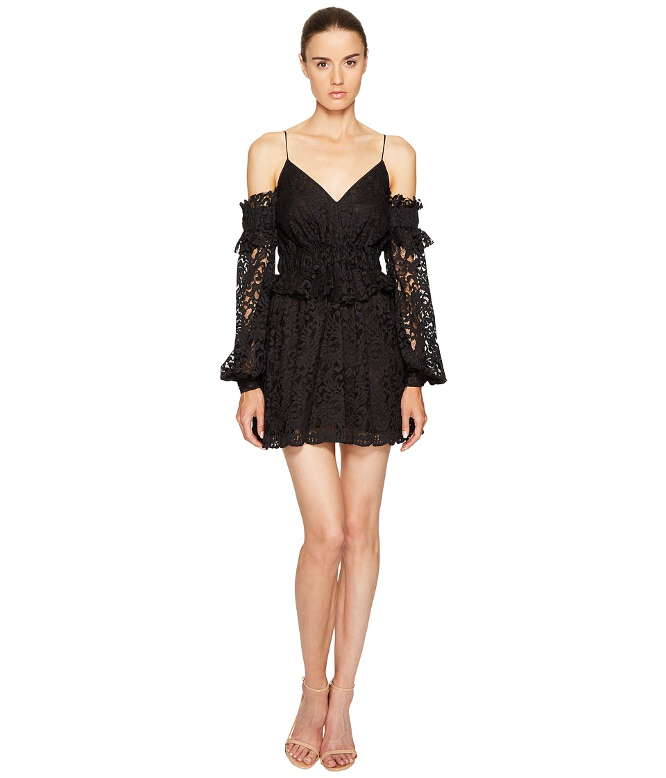 Francesco Scognamiglio - Off Shoulder Strapless Lace Dress