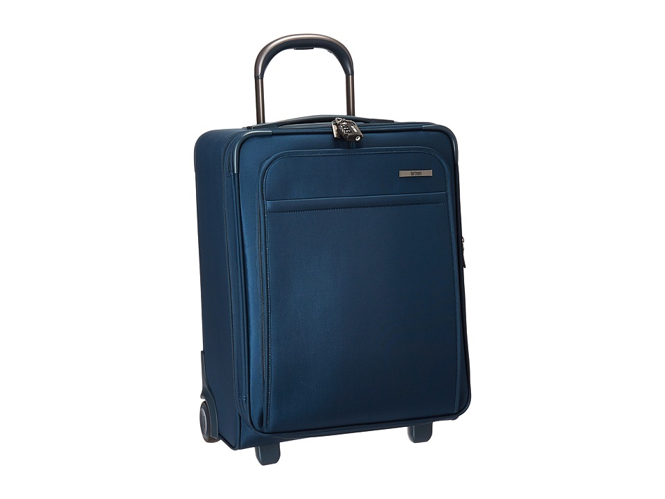 Hartmann Metropolitan Domestic Carry On Expandable Upright (Harbor Blue) Carry on Luggage