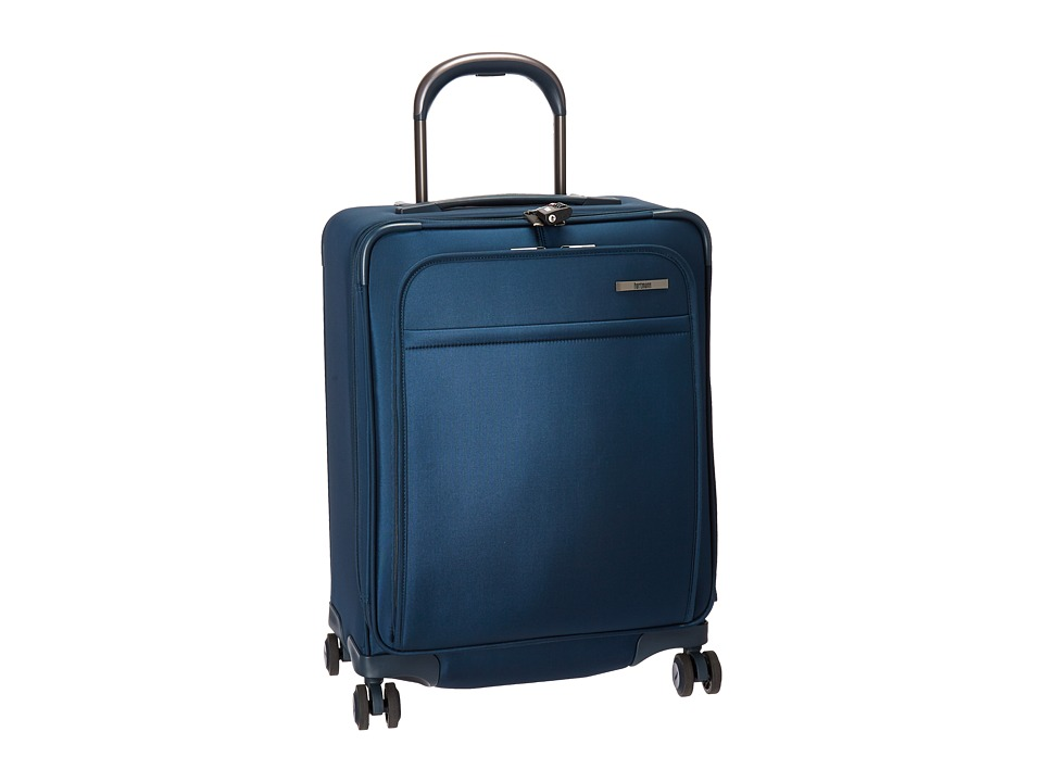 Hartmann Metropolitan Domestic Carry On Expandable Spinner (Harbor Blue) Carry on Luggage