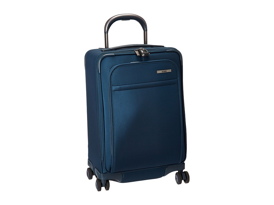 Hartmann Metropolitan Global Carry On Expandable Spinner (Harbor Blue) Carry on Luggage