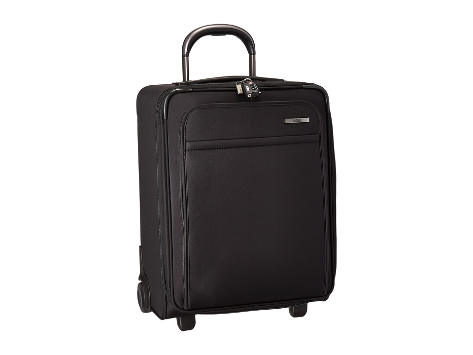 Hartmann Metropolitan Domestic Carry On Expandable Upright (Deep Black) Carry on Luggage