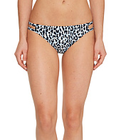MICHAEL Michael Kors - Thora Leopard Double Strap Bikini Bottom