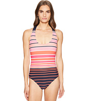 MICHAEL Michael Kors - Abby Stripe One-Piece