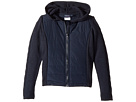 Nautica Kids Quilted Hoodie Sweater (Little Kids)