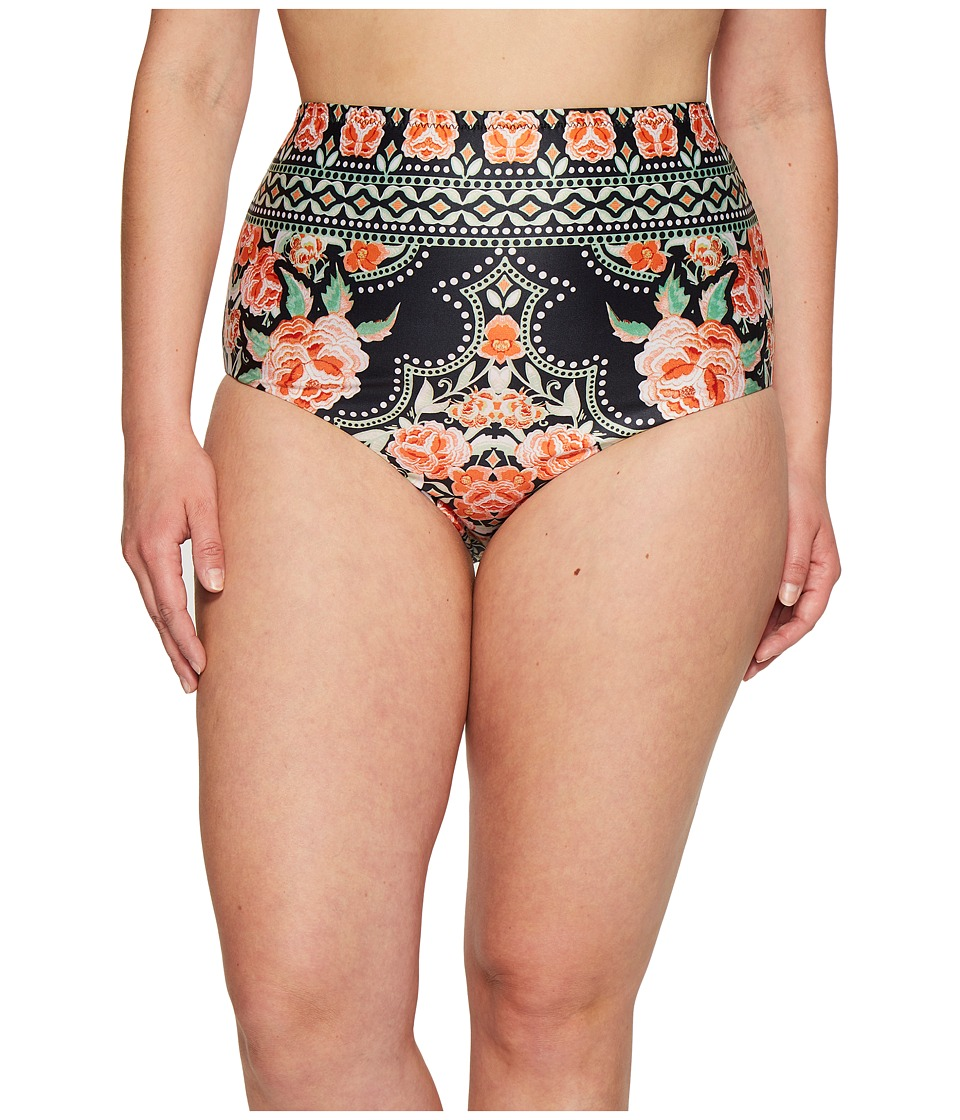 BECCA by Rebecca Virtue Plus Size Southern Belle Vintage Fit Bottom (Multi) Women