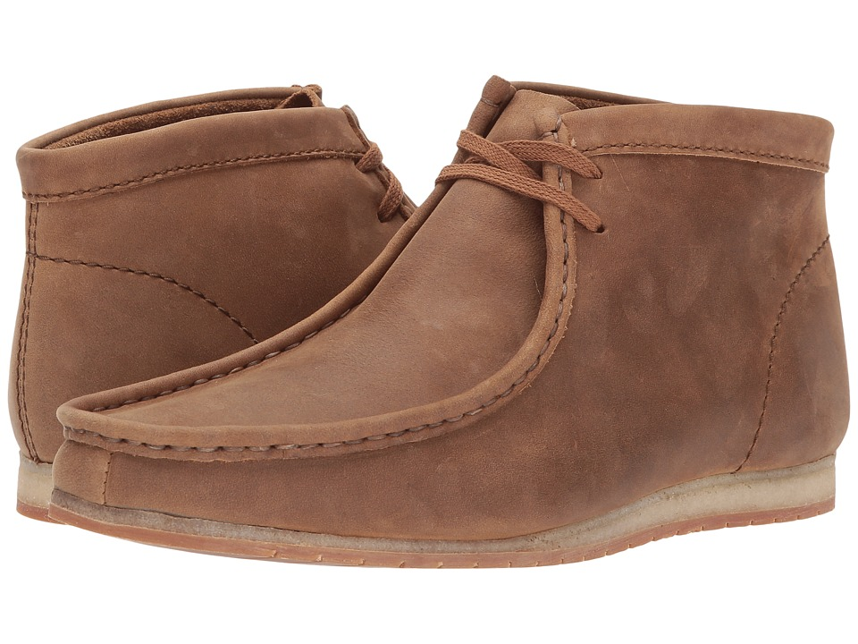 Clarks Wallabee Step Boot (Tan Leather) Men