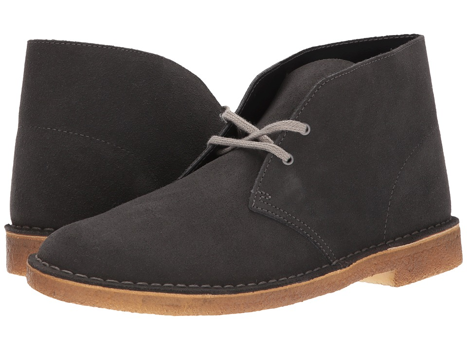 Clarks Desert Boot (Dark Grey Suede 2) Men