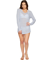 Splendid - Chambray All Day Hoodie Tunic Cover-Up