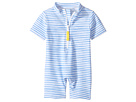 Toobydoo Toobydoo Blue Watercolor Sunsuit (Infant/Toddler)