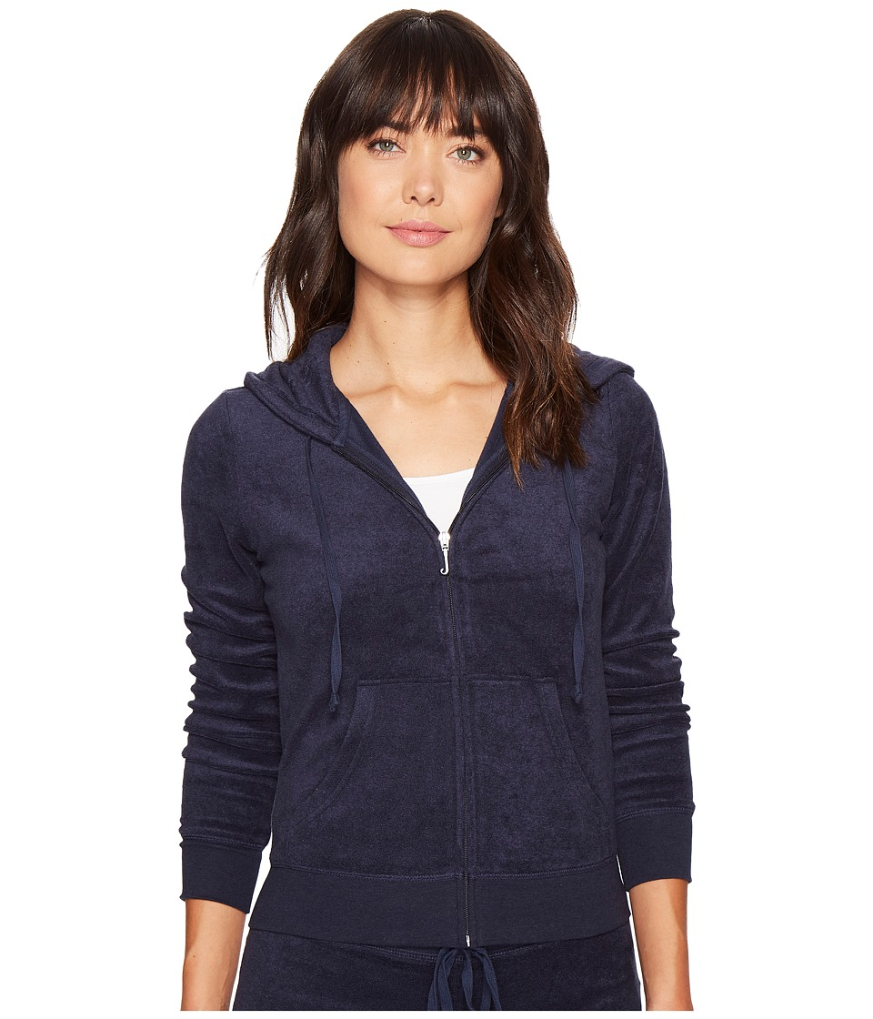 Juicy Couture Robertson Microterry Jacket (Regal) Women's...