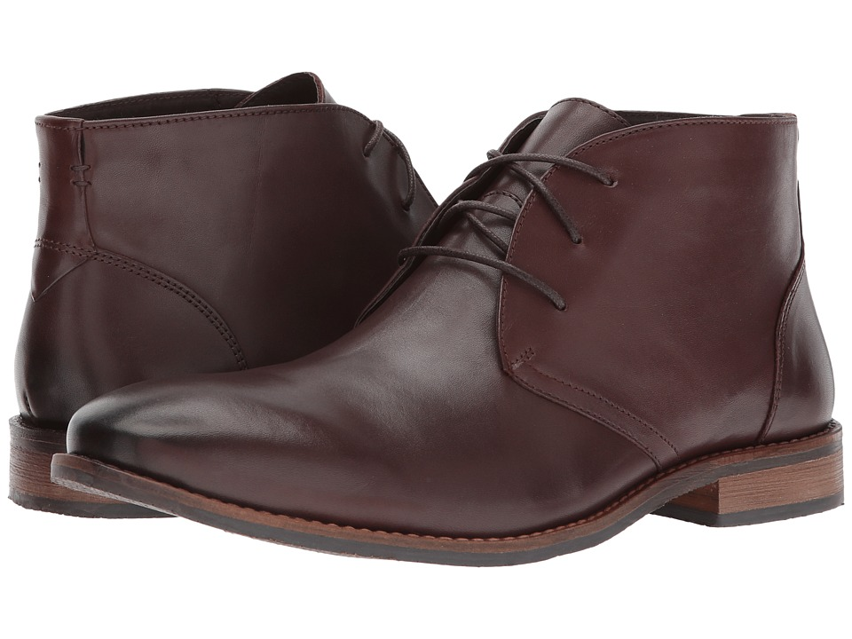 Nunn Bush Hatch Plain Toe Chukka Boot (Brown) Men