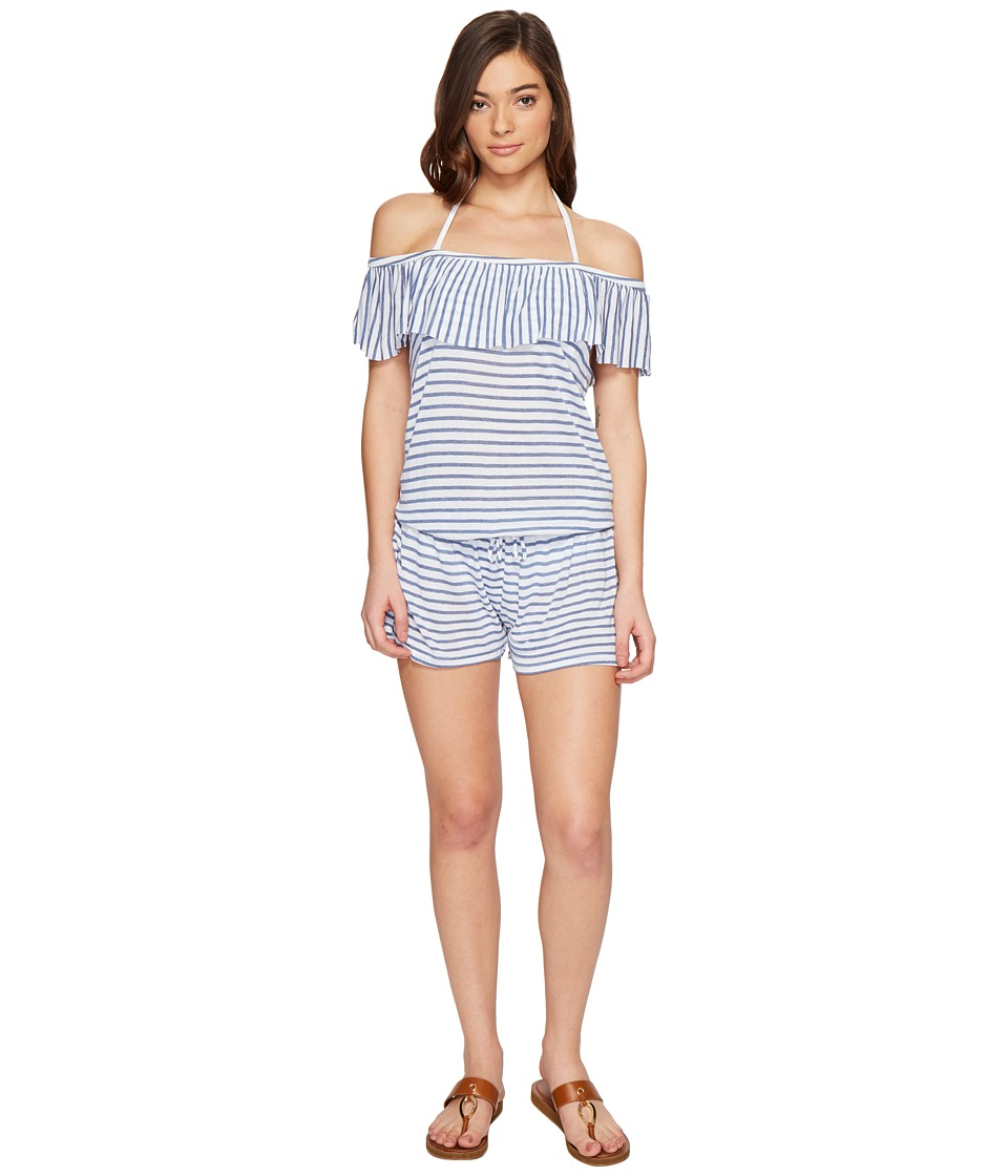 Splendid - Chambray All Day Off the Shoulder Romper Cover