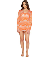 Splendid - Sun-Sational Solids Hoodie Tunic Cover-Up