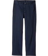 Nautica Kids - Regular Flat Front Twill Stretch Pants (Little Kids/Big Kids)