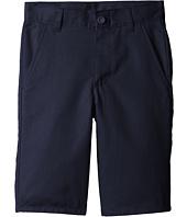 Nautica Kids - Slim Flat Front Twill Shorts (Big Kids)
