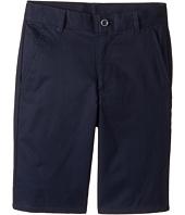 Nautica Kids - Regular Flat Front Twill Shorts (Big Kids)