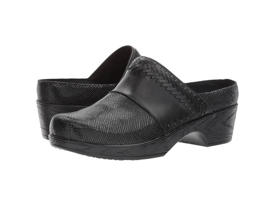Klogs Footwear Astoria (Black Square) Women's Shoes
